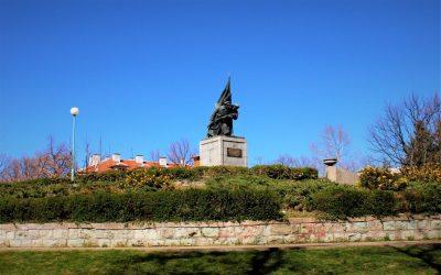 Паметникът на освободителите, гр.Кърджали